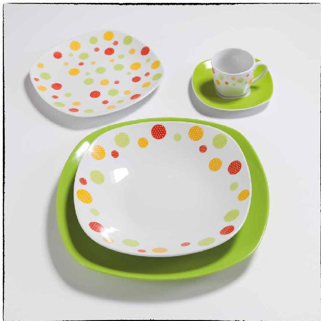 TAVOLA 19PZ CLOWN GREEN