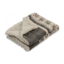 Villa d'Este Cortina Coperta Pv Fleece Xmas Grey