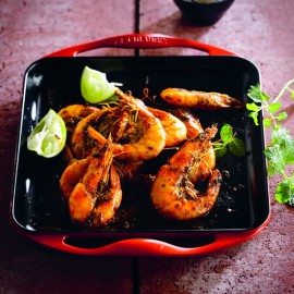 le creuset grill rettangolare in ghisa
