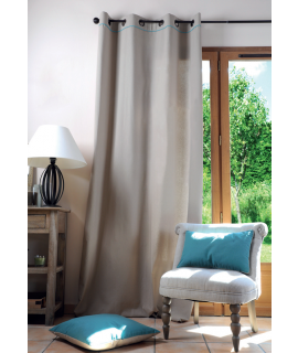 Lovely casa tenda Duo 135 x 250 cm colore lino/blu