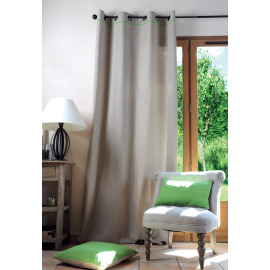 Lovely casa tenda Duo 135 x 250 cm colore lino/verde